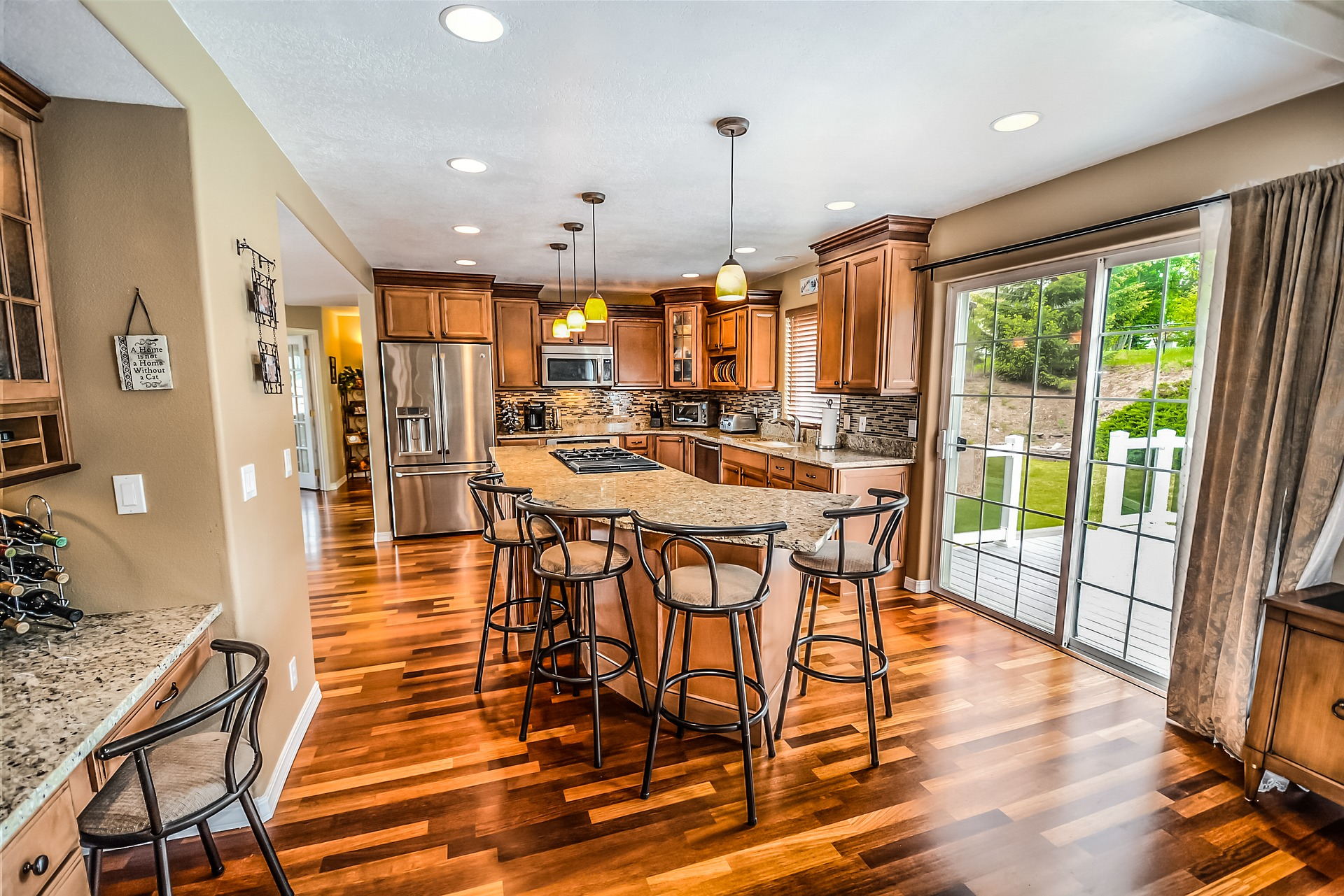 hardwood floor maintenance kitchen