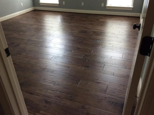 dark wood floors installed mix width