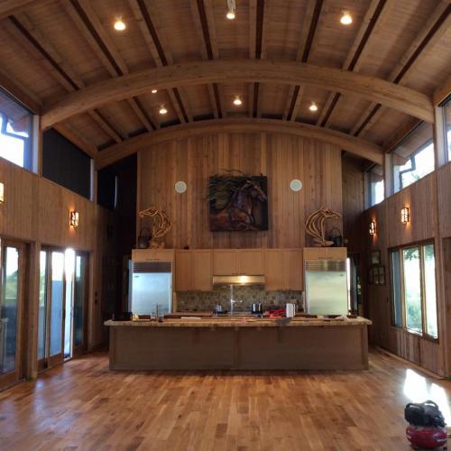 stunning cabin look