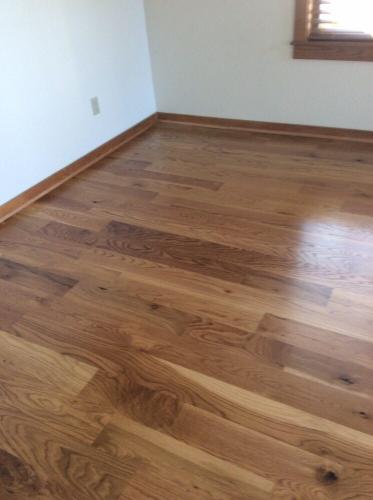 wood floor installed